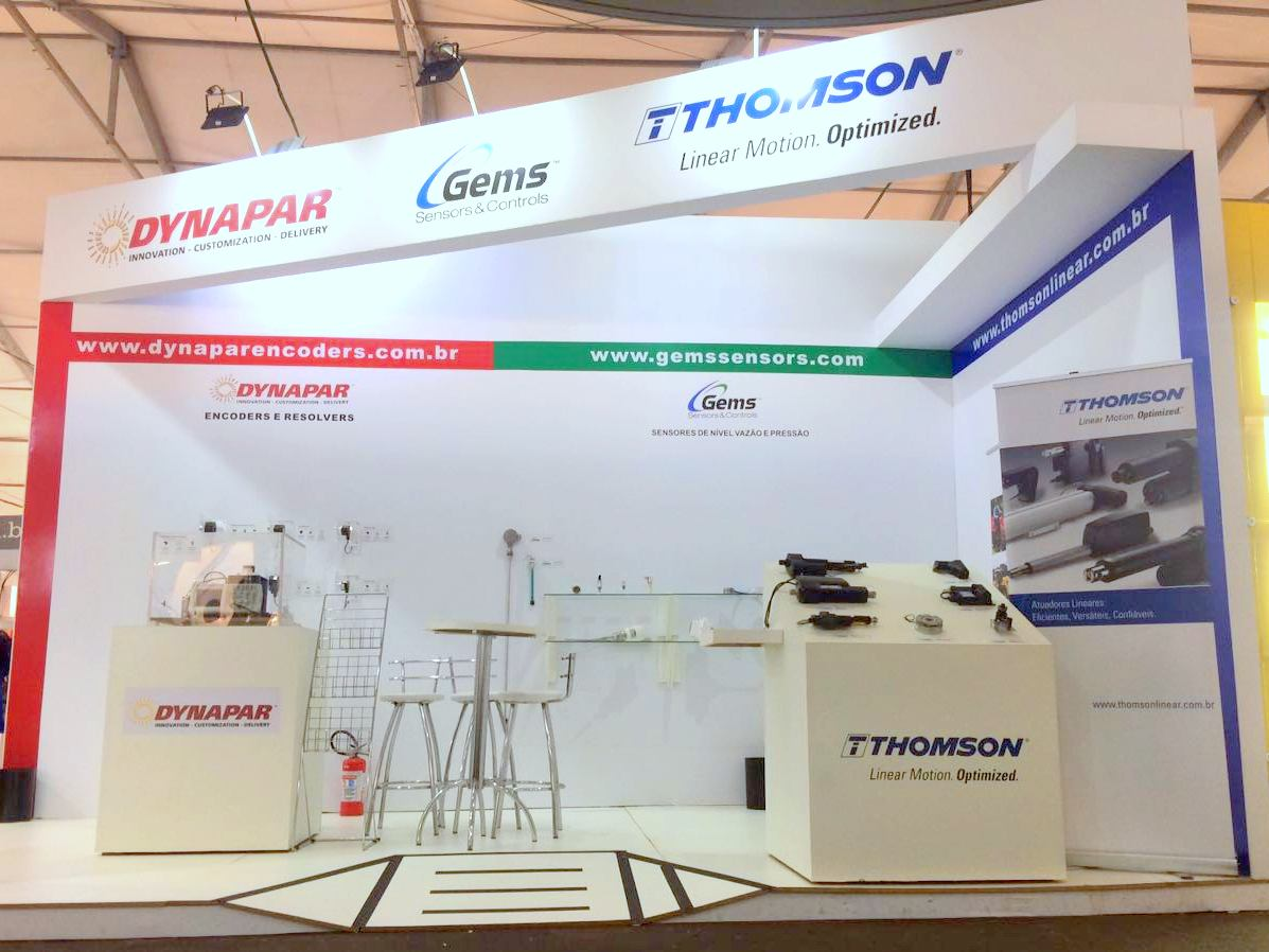 [In English] Check out the participation of Dynapar, Gems and Thomson at Agrishow 2017 – the biggest agricultural tradeshow in Latin America