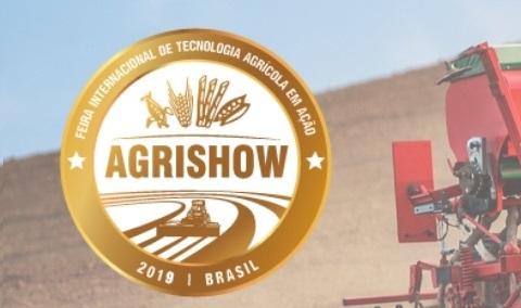 Visite-nos na Agrishow 2019